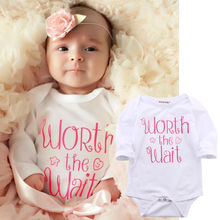 2016 Newborn Baby Bodysuit Clothes 0-18M Infant Toddler Kids Boys Girls Clothes Long Sleeve Bebes Bodysuits Costume