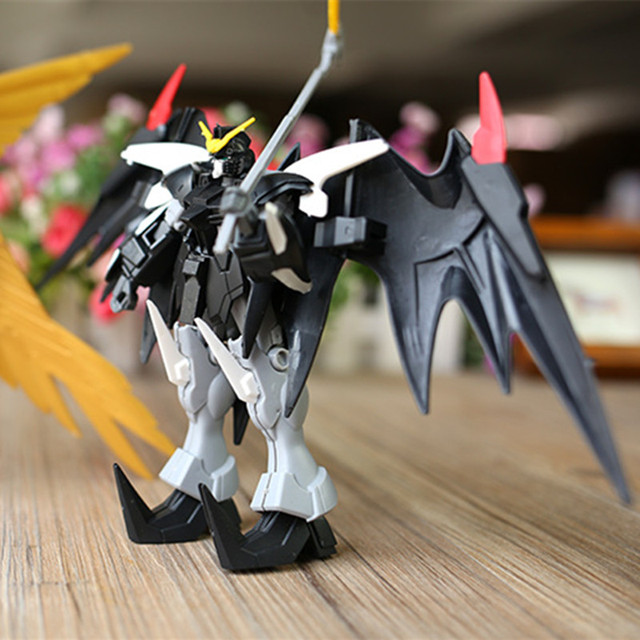 Hot Anime Gundam Building Blocks Kids Model Building Kits Action Figure Robot 2 Styles Children Assembled Toy Gift
