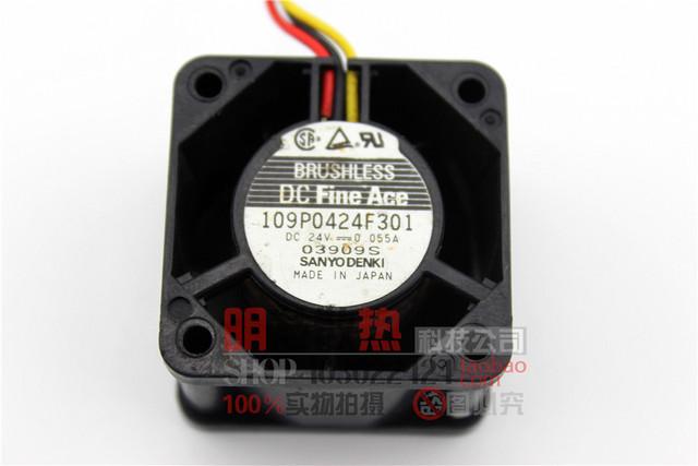 Auténtico Original 4028 24 V 0.055A 3 P 109P0424F301 mejor ventilador inversor