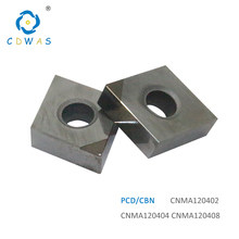 CNMA120402 CNMA120404 CNMA 120408 PCD CBN Diamond Inserts External Turning Tool CNC Lathe cutter Tool Blade for MCLNR / L Holder