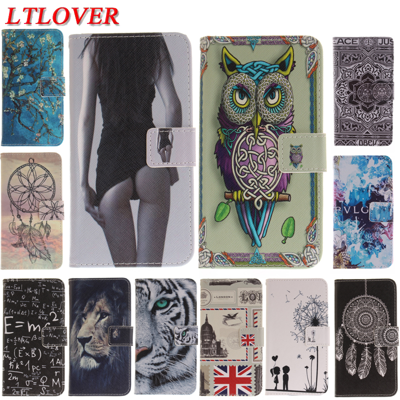 fashion sexy girl tiger owl cute pu Leather Magnetic Flip phone Case For Samsung Galaxy J5 2016 J510 J510F wallet stand cover