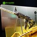 Оригинал Микромира M4A8 CARBINE пистолет головоломки 3D Металла сборки модели 2 листов Творческий интеллект игрушка Классическая коллекция