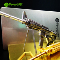 Original Microworld M4A8 CARBINE gun puzzle 3D Metal assembly model 2 sheets Creative intelligence toy Classic collection