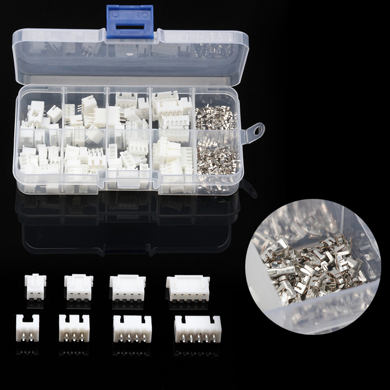 YT 230PCS 2.54mm Dupont Male Female Wire Connectors Jumper Pin Housing Header Crimp Cable Connectors Terminals Kit With Box цены