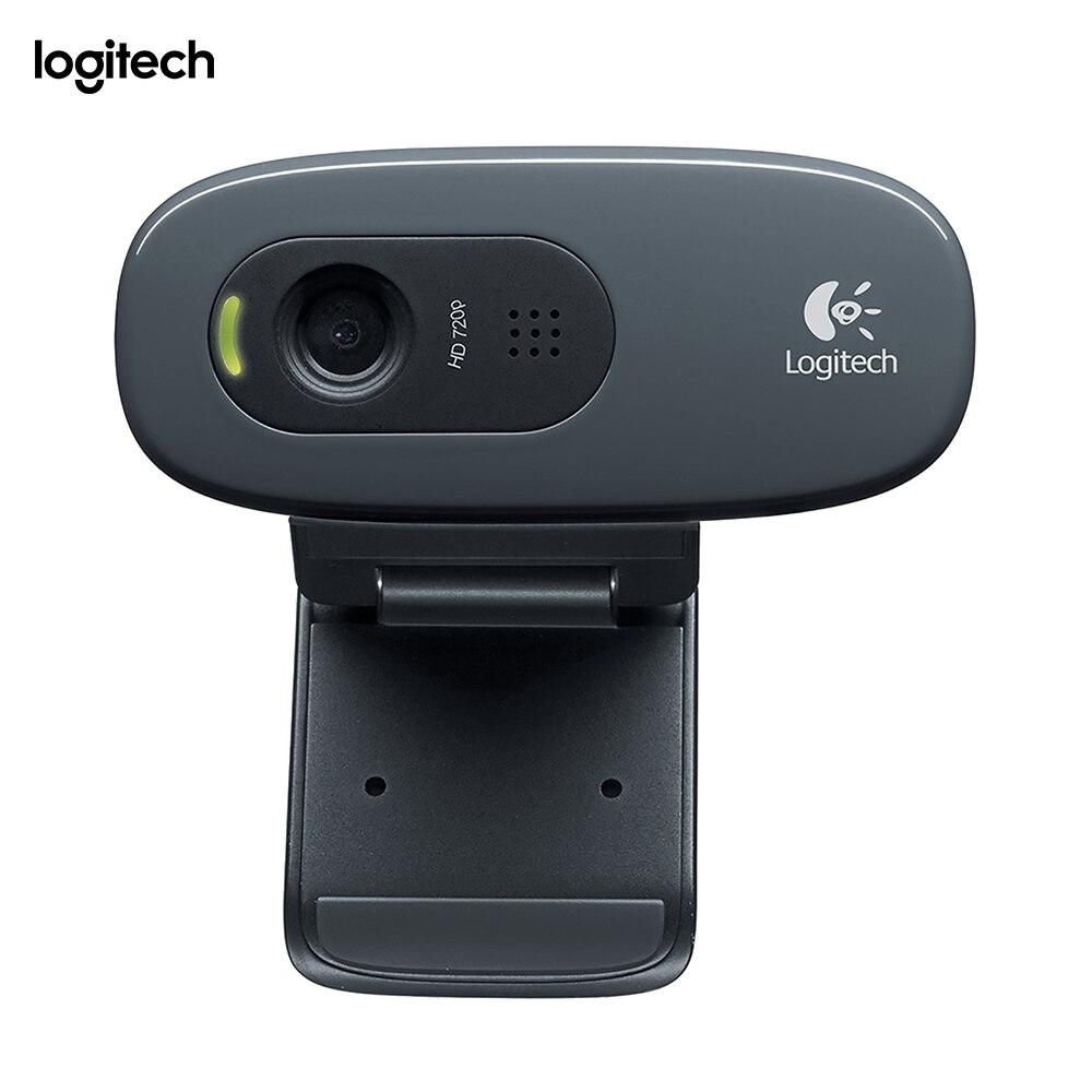 Logitech C270, 3 MP, 1280x720 pixels, 720 p, USB 2.0, noir, Clip
