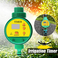 English Electric Digital Intelligent Garden Home Watering Timer Irrigation Automatic Control Sprinkler LCD Water Timer Displayer