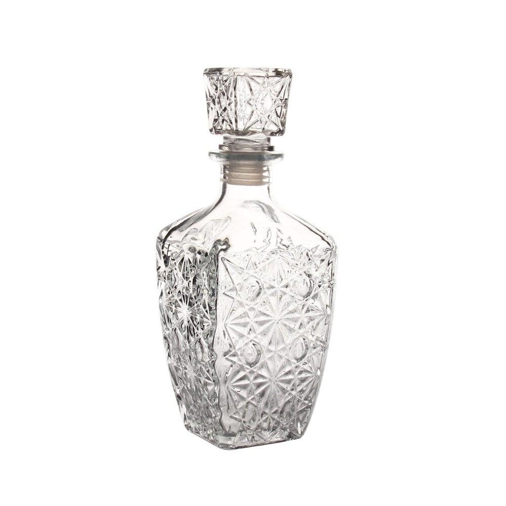 1000ml Glass Whiskey Decanter Liquor Wine Drinks Decanter