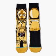 Man Planet Battle Socks