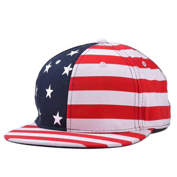 2014 summer and autumn letter usa cap american flag snapback hat-in ... 7278c32a890