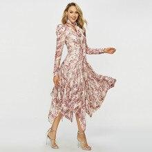 Коллекция для подиума женское длинное платье макси с принтом и бантом летнее платья с сеткой и пэчворком женское необычное платье