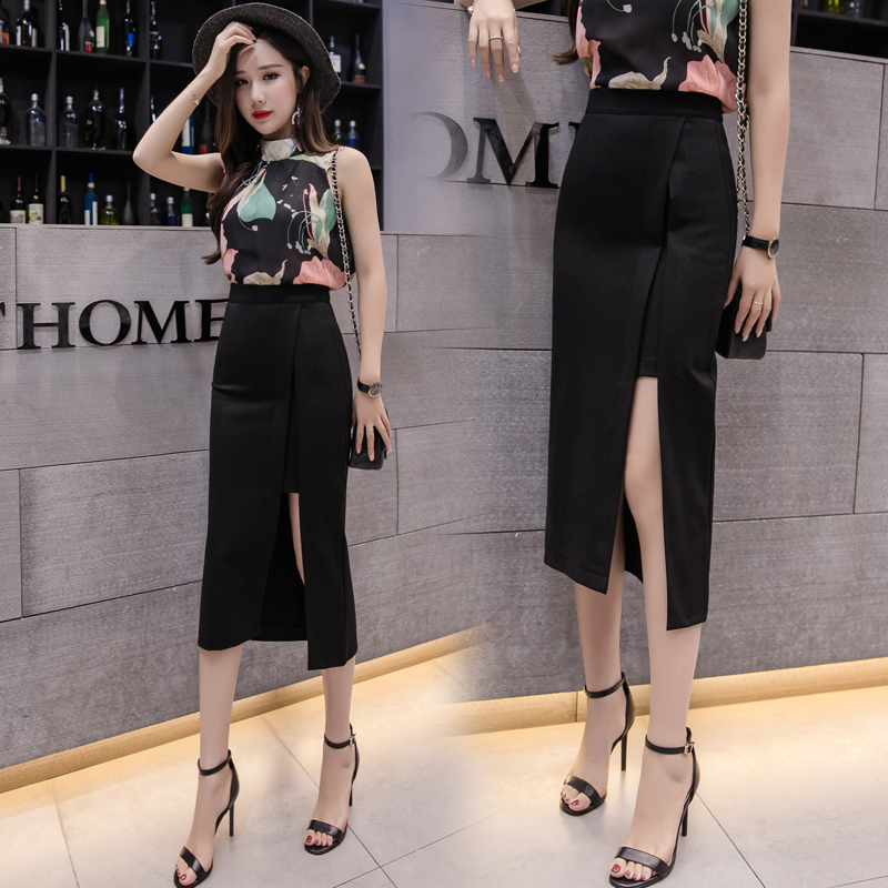 Cheap Wholesale 2019 New Spring Summer Autumn  Hot Selling Women's Fashion Casual  Sexy Skirt BP116