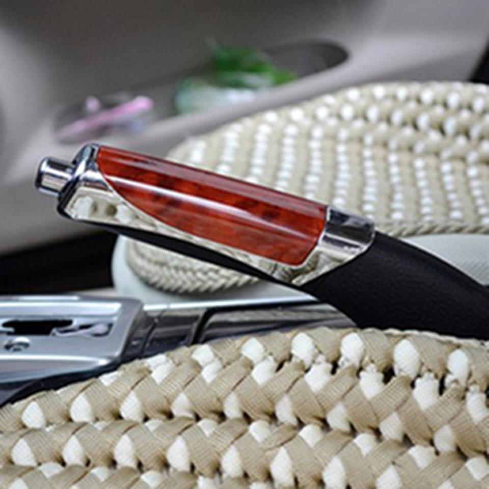 1Pcs Car Supplies Decorative ABS Plating Cover Handbrake Hand Brake Case Cover Sleeve For  Golf Mk6 Jetta MK5 GTI Scirocco
