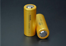 Cheapest prices Golden Brand new 26650 4000mAh Li-ion Rechargeable Battery for Flashlight Laser Pointer