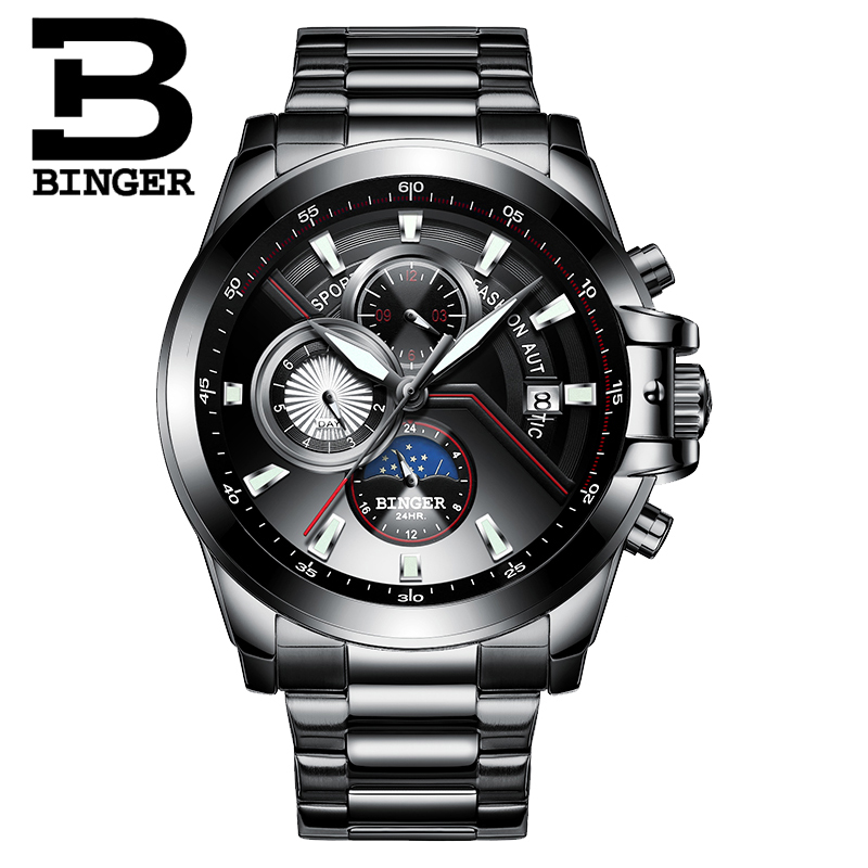 New Luxury Brand BINGER Watches Men Automatic mechanical  Watch Fashion week Date Watch Reloj Hombre Sport Clock Male relogioNew Luxury Brand BINGER Watches Men Automatic mechanical  Watch Fashion week Date Watch Reloj Hombre Sport Clock Male relogio