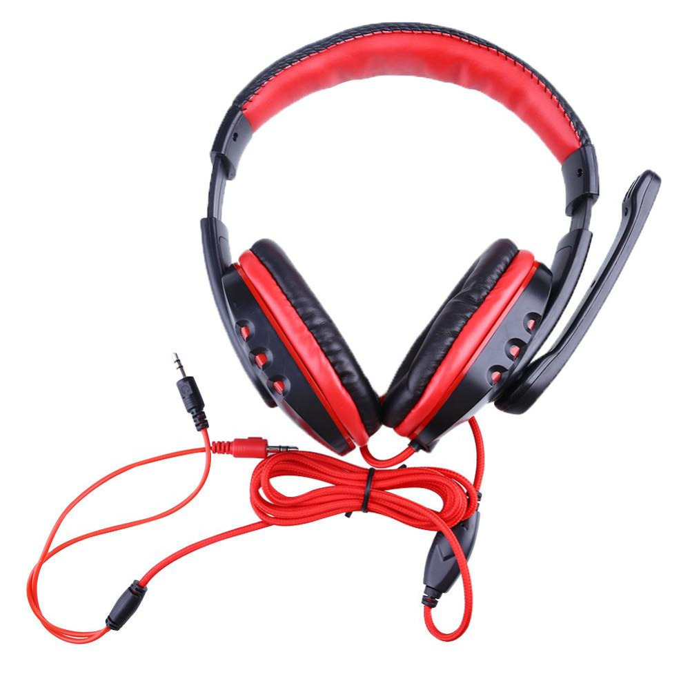 NEW Pro Gaming Game Gamer Stereo Headphones font b Headset b font Earphone With Microphone For
