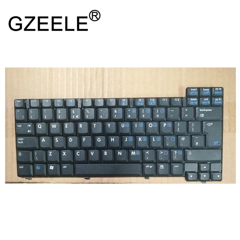 GZEELE UK New Keyboard FOR HP NX6120 NC6210 NC6110 NC6120 NX6115 NX6110 English laptop keyboard black  GZEELE UK New Keyboard FOR HP NX6120 NC6210 NC6110 NC6120 NX6115 NX6110 English laptop keyboard black