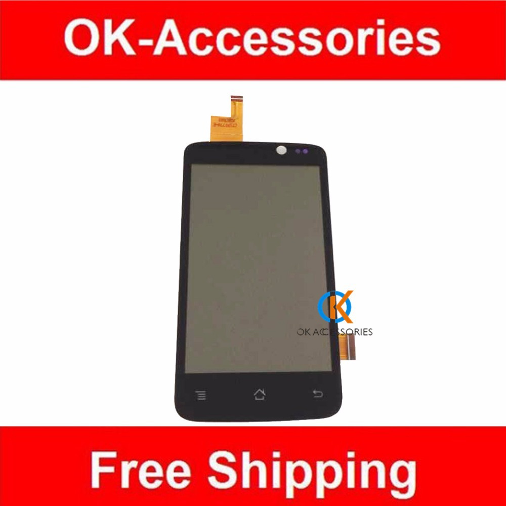 ФОТО High Quality For Archos 40 Titanium LCD Display+Touch Screen Digitizer Black Color 1PC/Lot Free Shipping