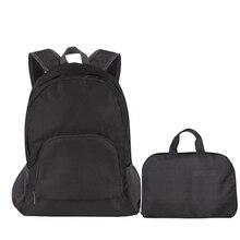 Новая горячая распродажа повседневные нейлоновые складные женские стиль сумки подростковые ручные школьные сумки для девочек ноутбук большой емкости рюкзак