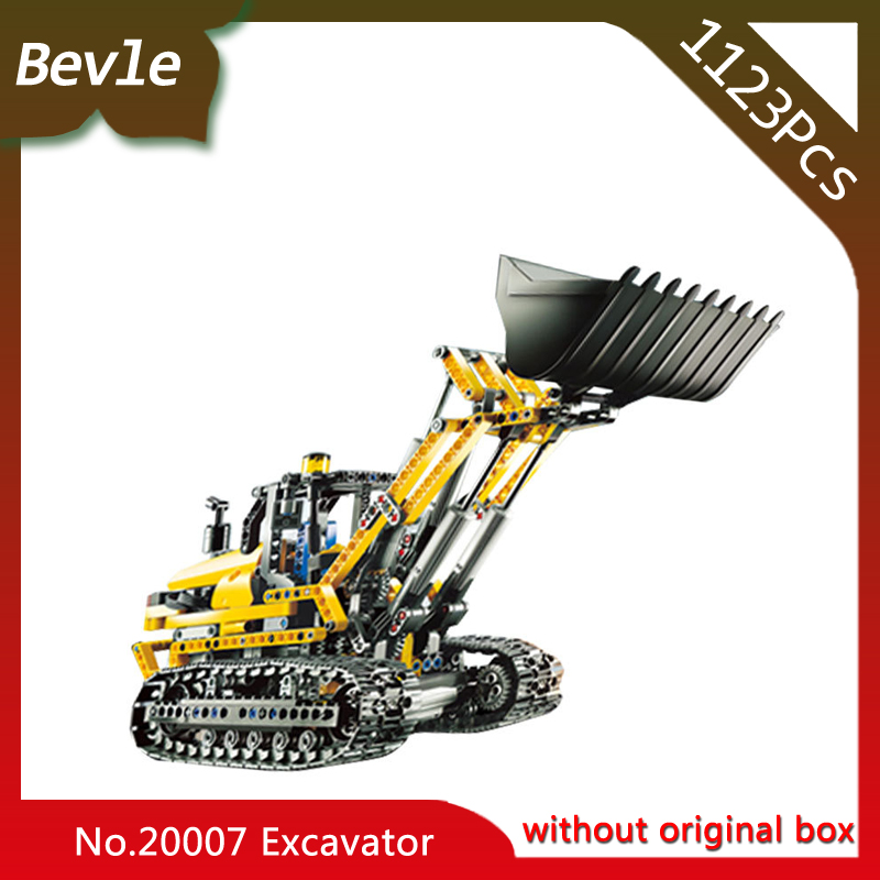 Bevle Store LEPIN 20007 1123pcs Technic Series Remote Control Excavator Model Building Blocks Bricks For Children Toys  8043 managing the store