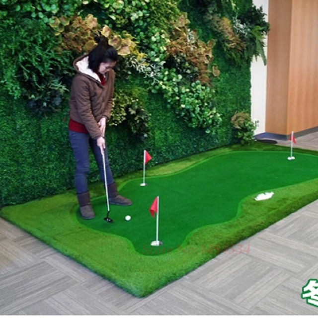 PGM New Indoor Mini Golf Putting Green Mat Mini Set Personal Trainer ...