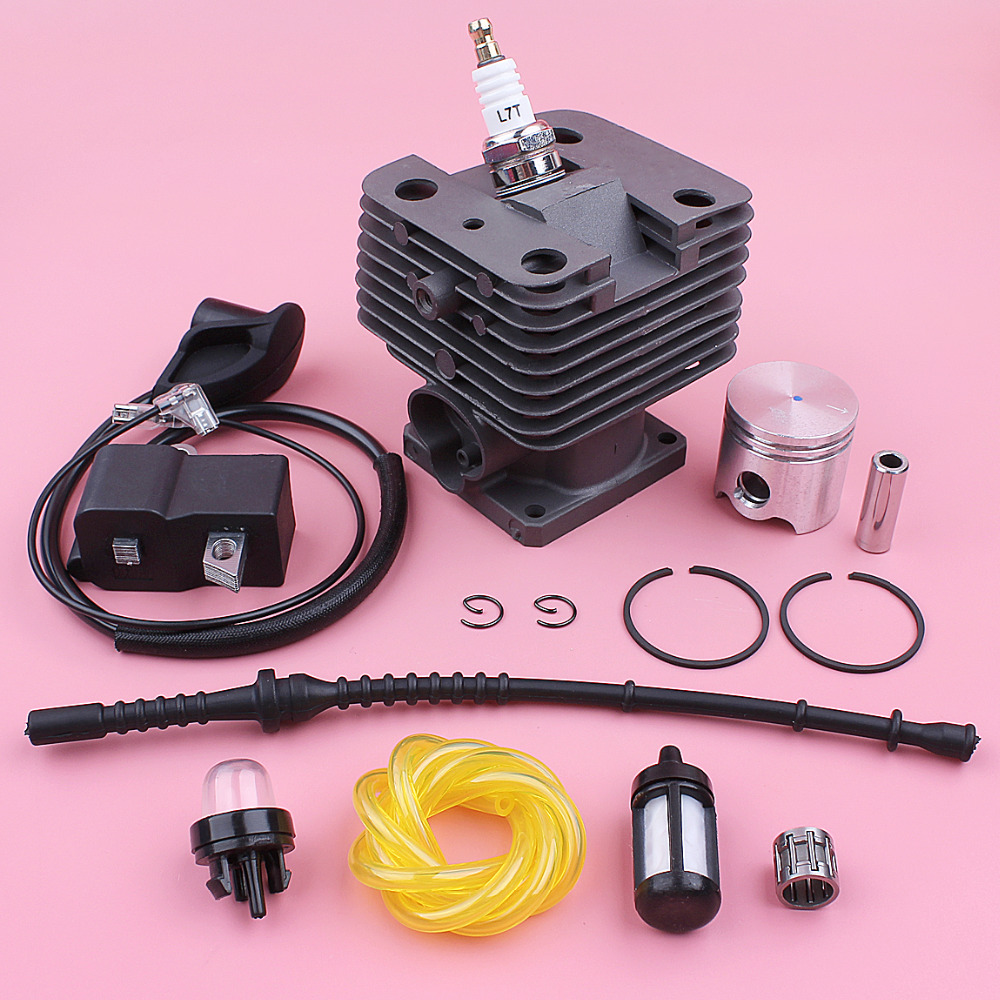 Kit de bobine d'allumage de Piston de cylindre de 35mm pour Stihl FS120 FS200 FS250 ligne de filtre à carburant