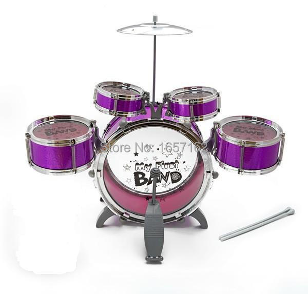 My First Band Baby Jazz Drum Set Musical Instruments Educational