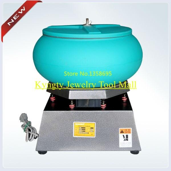 Hot Sale Vibratory Tumbler with Large Capacity14.5kg Jewelry Polishing Motor 2500 rpm