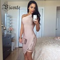 Free Shipping!!! Runway Style New Elegent One Shoulder HL Party Bandage Dress