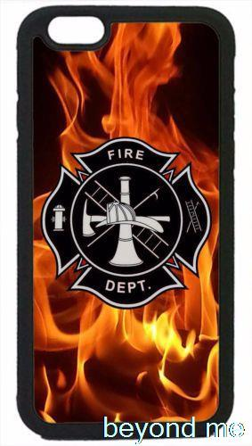 Firefighter Fireman Fire Rescue Cover Case for iPhone 4 4s 5 5s 5c 6 Plus Phone Case