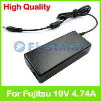 19 V 4.74A 90 W laptop charger ac power adapter FMV-AC323 per Fujitsu LifeBook T580 Tablet PC T725/K T730/B T731/D T732/F/G T734/H