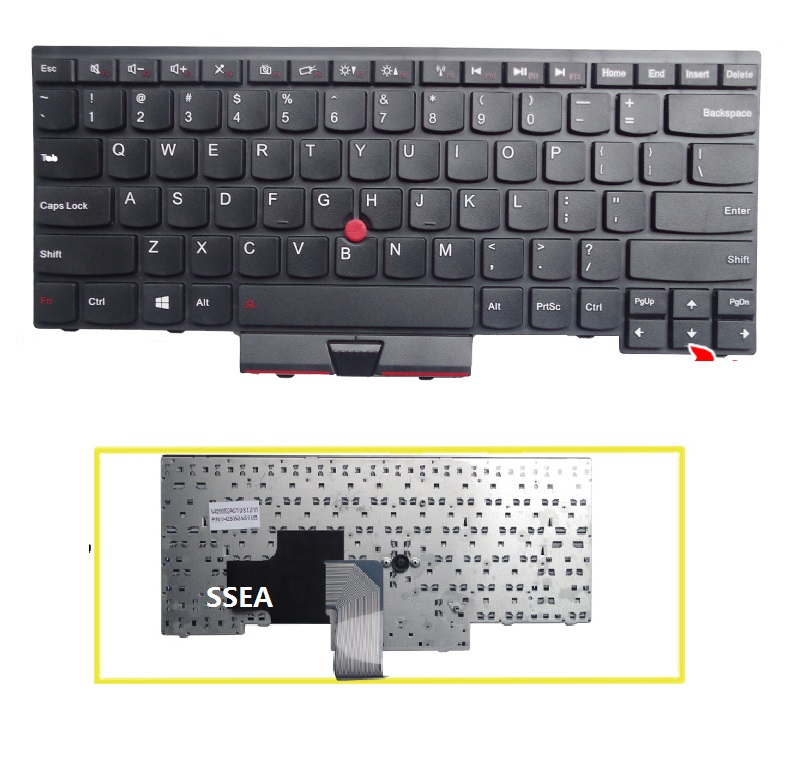 US Laptop New Keyboard For IBM Lenovo thinkpad Edge E430 E430C E435 E320 E325 E330 E335 original laptop keyboard for ibm lenovo thinkpad t460p us keyboard 00ur395 free shipping