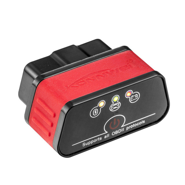 Code Readers & Scan Tools car code reader launch diagnostics auto scanner obd2 KW903 Car Engine ELM327 Bluetooth 3.0 May21
