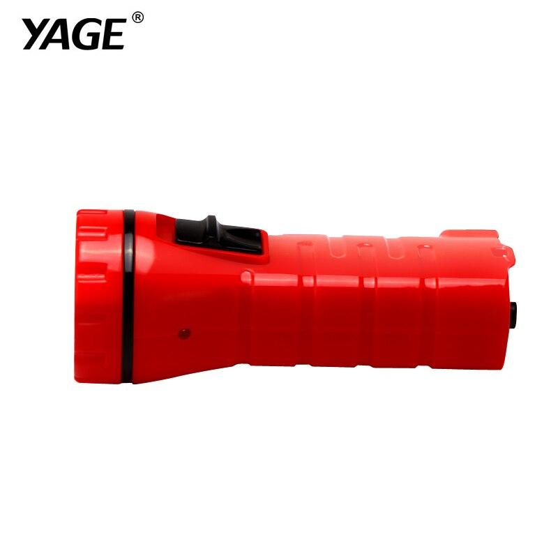 YAGE-3734 LED Flashlight Night Light Led Torch Literna Laterna Battery Inside Lampe Torche Mini For Walking/camping