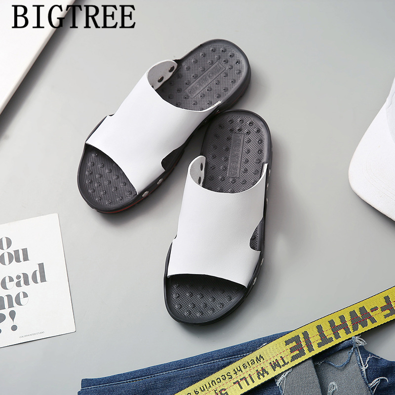 genuine leather casual sandals for mens slippers outdoor bathroom slippers men sandals 2019 men slippers summer erkek ayakkabigenuine leather casual sandals for mens slippers outdoor bathroom slippers men sandals 2019 men slippers summer erkek ayakkabi