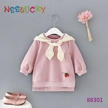 цены Baby girl clothes winter coat  vestidos kids vestido infantil hoodie ropa bebek ropa de mujer girls
