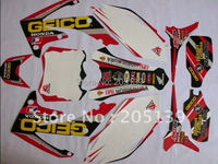 2010 2011 CRF250R 2012 2013 motorcycle motocross graphics kit DECALS stickers for honda moto dirt pit bike CRF 250R 250 parts