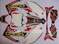 Nuevo 2010 2011 2012 2013 motocicleta motocross 3 M pegatinas gráficos kit DECALS stickers para honda pegatinas para moto dirt pit bike CRF CRF250R 250 BIKES parts