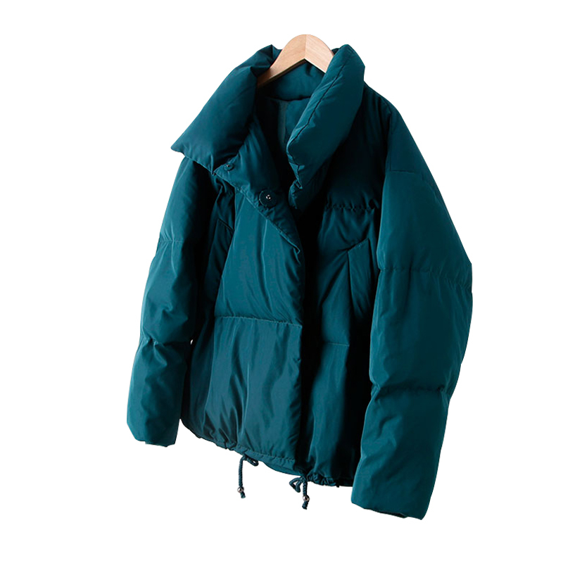 2019 Autumn Winter Jacket Women Coat Fashion Female Stand Down Jacket Women   Parkas   Warm Casual Plus Size Clothing