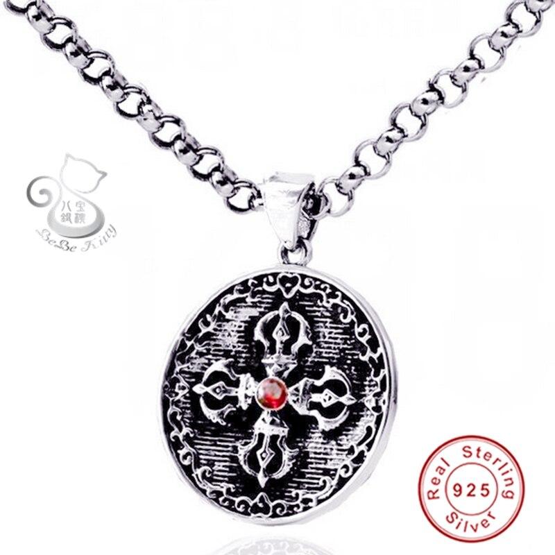 Round Supernature Pendant Necklace Bijuteria Collier Femme 2015 Pentagram Pendant Necklace Man Suspension Collares Pentagrama