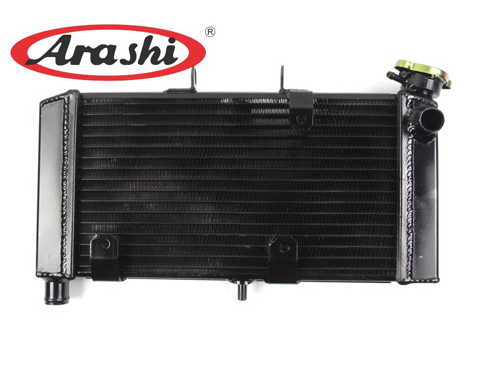 Arashi Black Replacement Radiator For SUZUKI SV650S SV 650S 2003 2004 2005 2006 03 06 Motorcycle