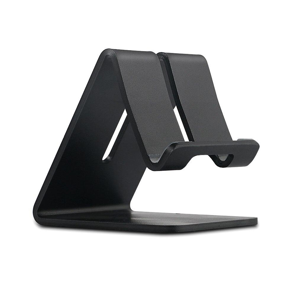 Универсальный алюминиевый сплав держатель мобильного телефона кровать офисные Настольная подставка держатель телефона для <font><b>iPhone</b></font> 6 S плюс 5C/ 5S&#8230;