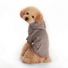 High quality Autumn Winter Pet Dog Clothes Clothing Best Material for Pet Dog leash Bed four Color Pet dog Sport clothing
