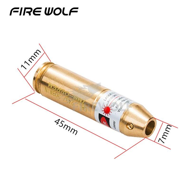 Cal. 308 243 Cartuccia Laser Bore Sighter/. 243. 308 Laser Bore Sight Boresight Boresighter Pistola della Pistola Fucile Da Caccia Caza In Ottone