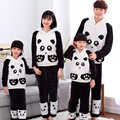 Thick Warm Coral Velvet Pyjamas Sets For Women Autumn Winter Flannel Female Cartoon Panda Unicorn Hooded Animal Pants Sleepwear