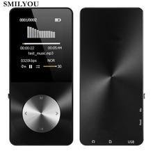 Smilyou HiFi Металл MP4-плеер Встроенный динамик 8 ГБ 16 ГБ 1.8 дюймов Экран может Поддержка 32 ГБ SD карты с видео сигнализация fm Радио