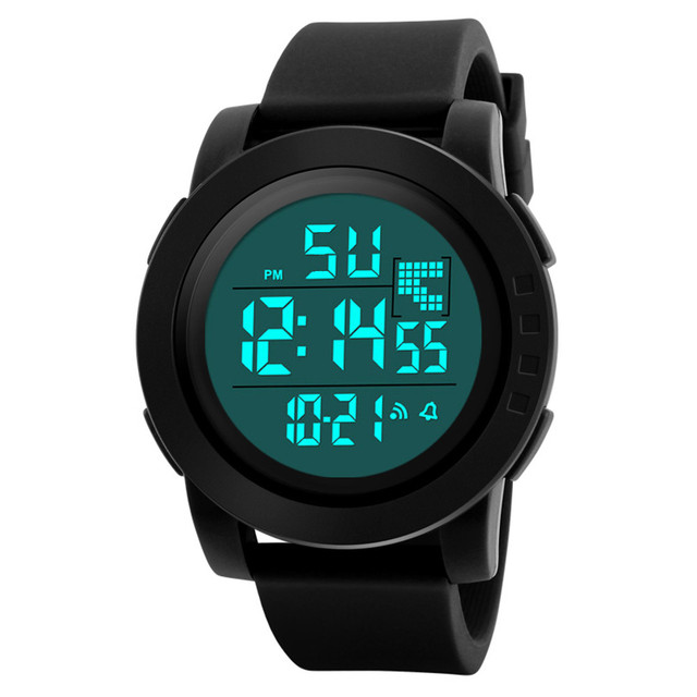 ad8ff9e7d0eb Los hombres de lujo analógico digital militar ejército deporte LED reloj  impermeable relojes electrónicos hombres reloj