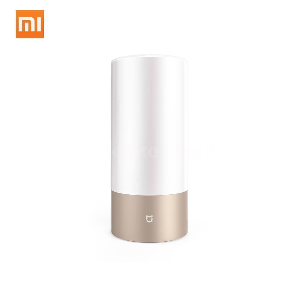 Mood Light Xiaomi Mijia Dimmable Bedside Lamp Night Light Led Rgb Touch Bluetooth Wifi T2n7 Lamps Lighting Night Lights lumiparty smart bedside lamp touch sensor led night light rgb dimmable atmosphere led lamp intelligent mood nightlight