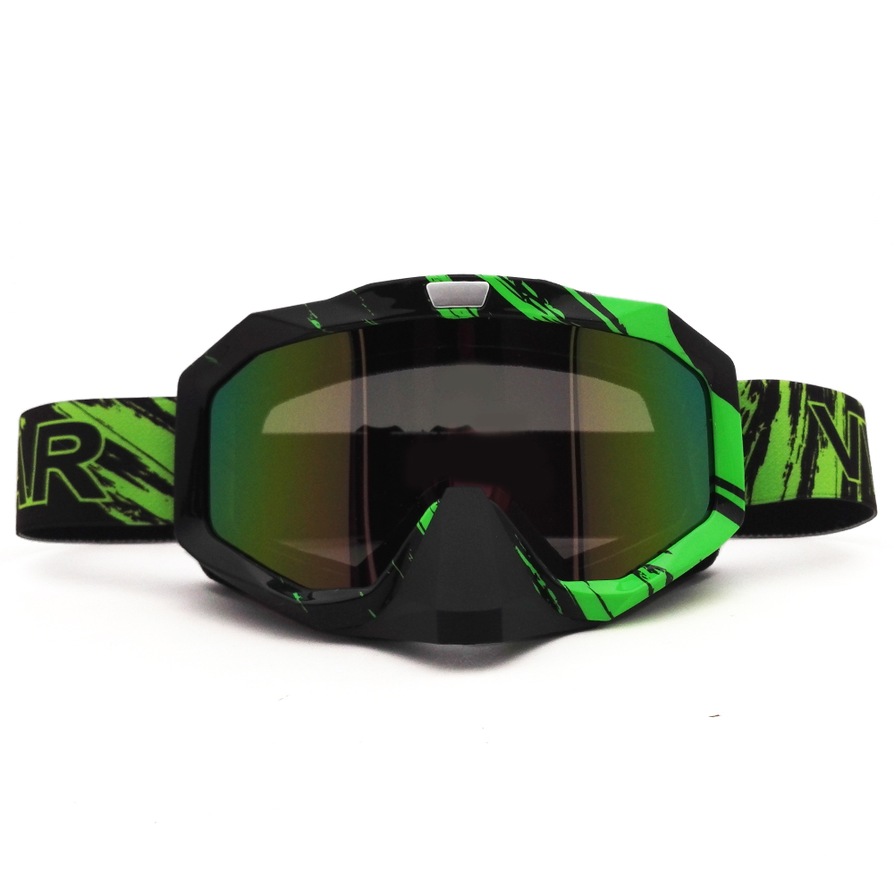 Prix pour Vert X316C Motocross Lunettes Cross Country Skis Snowboard VTT Masque Oculos Lunettes Moto Casque MX Lunettes Lunettes