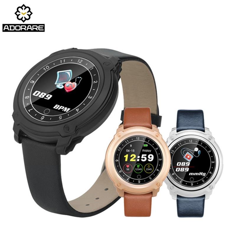 все цены на ADORARE CD10 Smart Watch Women Men Bluetooth Heart Rate Monitor Fitness Tracker Smart Bracelet Pedometer Sport Wristband онлайн