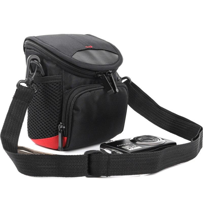 Cámara-bolso funda adecuado para Nikon Coolpix a100 a300-estuche de cuero